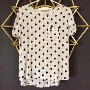 LOFT High-Low T-Shirt Blouse